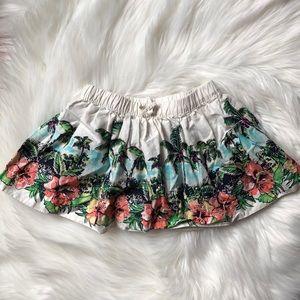 OshKosh tropical print skirt size 24M